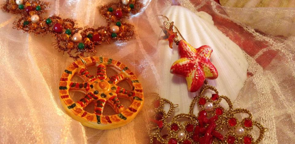 gioielli in ceramica di caltagirone