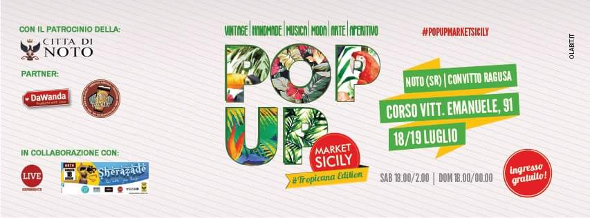 Pop Up Market Sicily