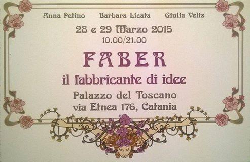 28 & 29 Marzo  Esposizione all Palazzo del Toscano (Catania)