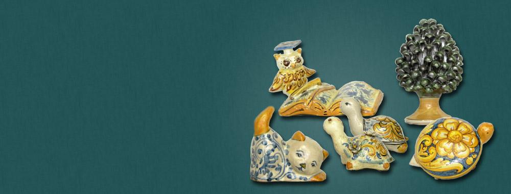 Bomboniere in <br>ceramica di Caltagirone