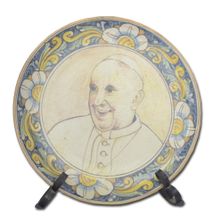 Piatto Papa Francesco