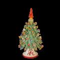 Albero di Natale puntale rosso