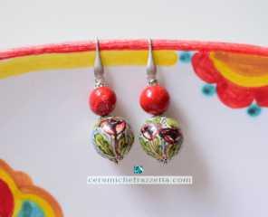 Orecchini Tulipano
