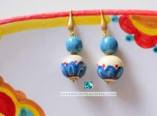 Pendenti doppia perla