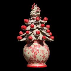 Vaso albero di Natale