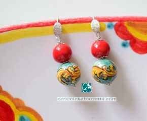 Pendenti doppia perla Ornato