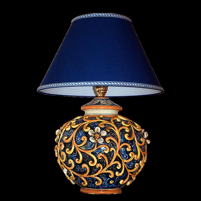 Lumi in ceramica di Caltagirone  Ceramiche Artistiche Frazzetta